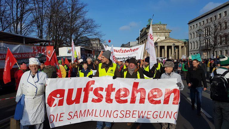AUFSTEHEN - Wir haben es satt Demo 2019