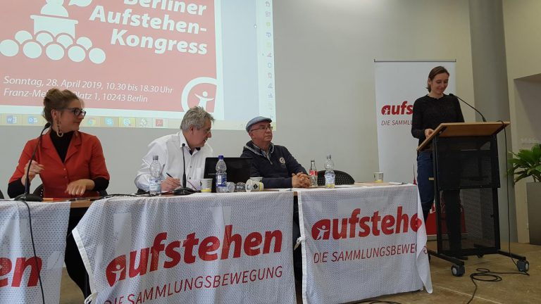 AUFSTEHEN in Berlin - Kongress