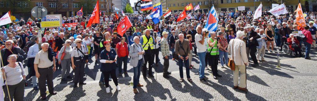 Aufstehen - Ostermarsch 2019